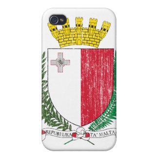 Escudo de armas de Malta iPhone 4/4S Carcasa