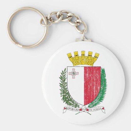 Escudo de armas de Malta Llavero