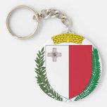 Escudo de armas de Malta Llavero Personalizado