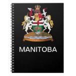 Escudo de armas de Manitoba Libro De Apuntes