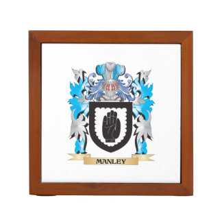 Escudo de armas de Manley - escudo de la familia