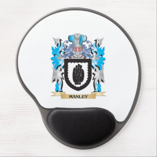 Escudo de armas de Manley - escudo de la familia Alfombrillas Con Gel