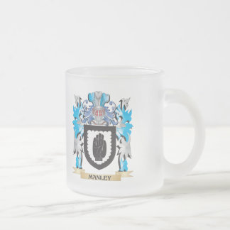Escudo de armas de Manley - escudo de la familia Tazas