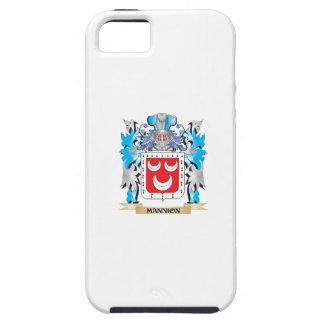 Escudo de armas de Mannion - escudo de la familia iPhone 5 Cárcasas