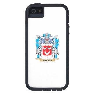 Escudo de armas de Mannion - escudo de la familia iPhone 5 Case-Mate Fundas