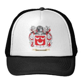 Escudo de armas de Mannion (escudo de la familia) Gorras De Camionero