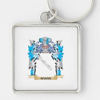 Escudo de armas de Manns - escudo de la familia Llavero Personalizado