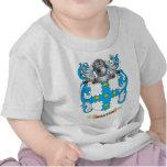 Escudo de armas de Manton (escudo de la familia) Camiseta