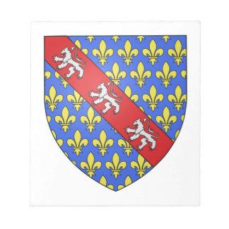 Escudo de armas de Marche (Francia) Libretas Para Notas