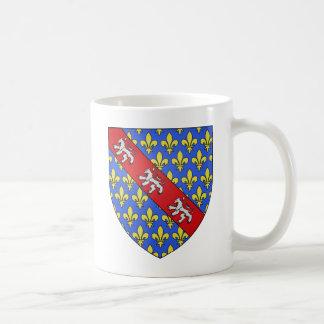 Escudo de armas de Marche (Francia) Taza