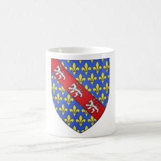 Escudo de armas de Marche (Francia) Taza Clásica