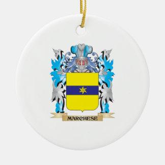 Escudo de armas de Marchese - escudo de la familia Adorno De Navidad