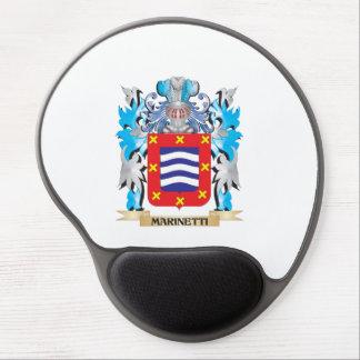 Escudo de armas de Marinetti - escudo de la Alfombrillas De Raton Con Gel