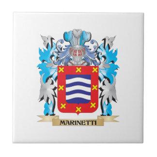 Escudo de armas de Marinetti - escudo de la Azulejo Ceramica