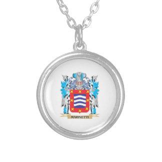 Escudo de armas de Marinetti - escudo de la Collares Personalizados