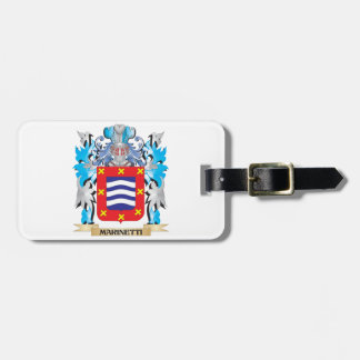 Escudo de armas de Marinetti - escudo de la Etiquetas Bolsas