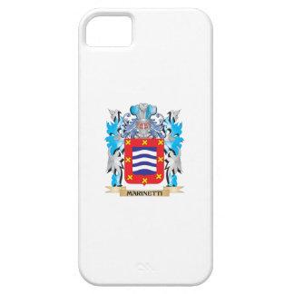 Escudo de armas de Marinetti - escudo de la iPhone 5 Protector