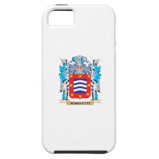 Escudo de armas de Marinetti - escudo de la iPhone 5 Protectores