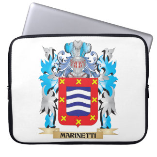 Escudo de armas de Marinetti - escudo de la Funda Ordendadores