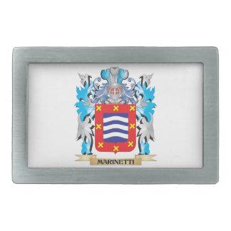 Escudo de armas de Marinetti - escudo de la Hebilla De Cinturon
