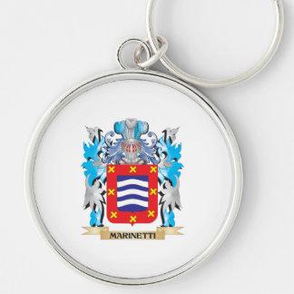 Escudo de armas de Marinetti - escudo de la Llaveros Personalizados