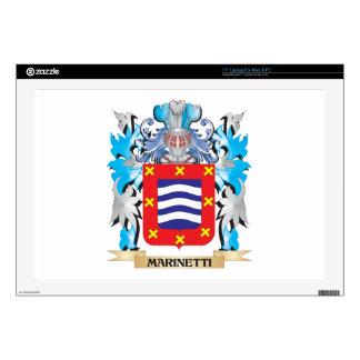 Escudo de armas de Marinetti - escudo de la Portátil Skins