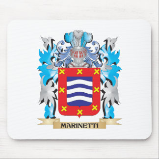 Escudo de armas de Marinetti - escudo de la Tapetes De Ratón