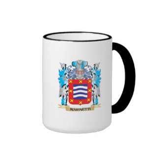 Escudo de armas de Marinetti - escudo de la Tazas De Café