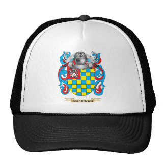 Escudo de armas de Marrinan (escudo de la familia) Gorros