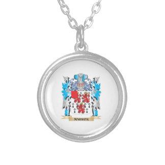 Escudo de armas de Marron - escudo de la familia Colgante Personalizado