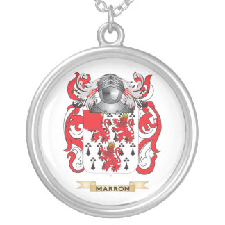 Escudo de armas de Marron (escudo de la familia) Colgantes
