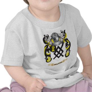 Escudo de armas de Marrs (escudo de la familia) Camiseta