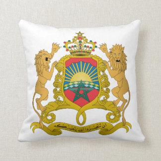 Escudo de armas de Marruecos Cojín Decorativo
