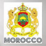 Escudo de armas de Marruecos Impresiones