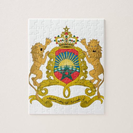 Escudo de armas de Marruecos Puzzle