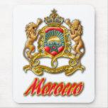 Escudo de armas de Marruecos Tapetes De Ratón