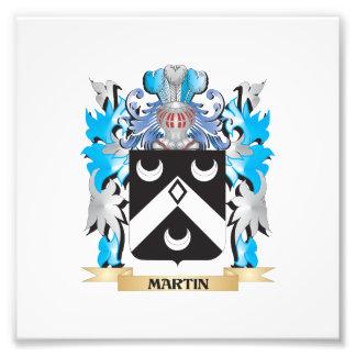 Escudo de armas de Martin - escudo de la familia Fotografias