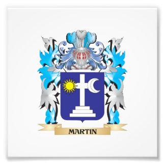 Escudo de armas de Martin - escudo de la familia Fotos