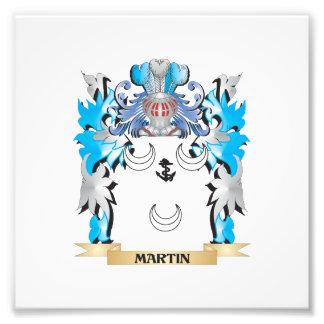 Escudo de armas de Martin - escudo de la familia Impresiones Fotográficas