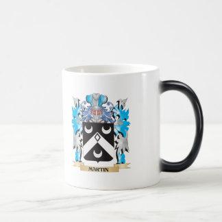 Escudo de armas de Martin - escudo de la familia Tazas De Café