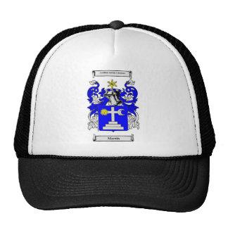 Escudo de armas de Martin (Irlanda) Gorras