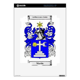 Escudo de armas de Martin (Irlanda) iPad 2 Calcomanía
