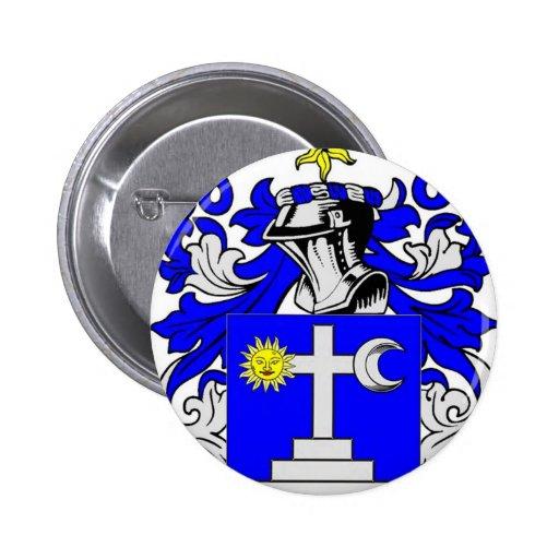 Escudo de armas de Martin (Irlanda) Pin Redondo 5 Cm