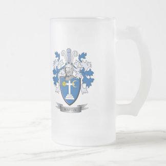 Escudo de armas de Martin Taza De Cristal