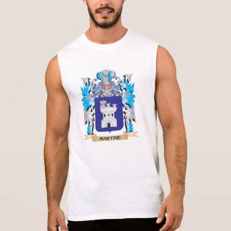 Escudo de armas de Martine - escudo de la familia Camiseta Sin Mangas