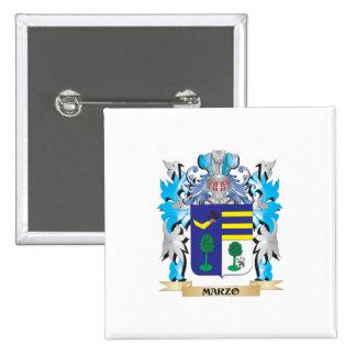 Escudo de armas de Marzo - escudo de la familia
