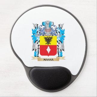 Escudo de armas de Massa - escudo de la familia Alfombrilla Gel