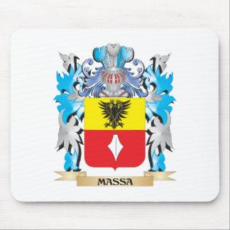 Escudo de armas de Massa - escudo de la familia Alfombrilla De Ratón