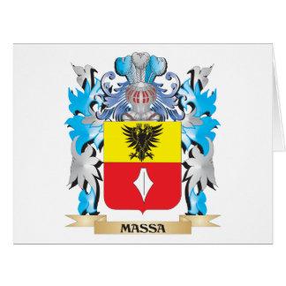Escudo de armas de Massa - escudo de la familia Tarjeton