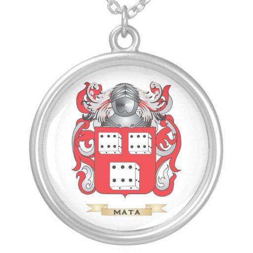 Escudo de armas de Mata (escudo de la familia) Joyerias Personalizadas